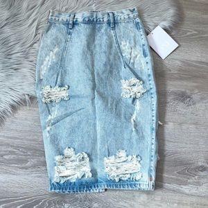 One Teaspoon Skirts - NWT One Teaspoon Free love skirt salty 24